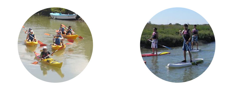 Package Kayak + Stand Up Paddle