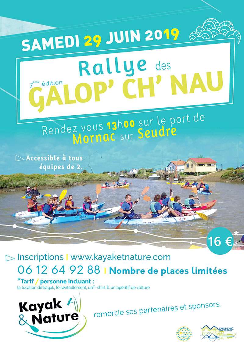 Galop'Chnau Kayak et Nature 2019